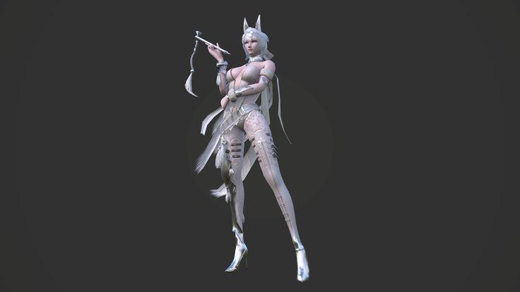 게임학원,3D모델링,3D캐릭터,3D배경,모델링,서울게임아카데미  오기현 학생작품