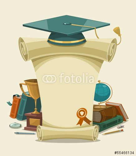 Wektor: Diploma certificate