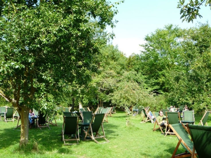 The Orchard, Granchester