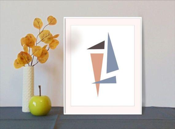 Extreme minimalism Affiches modernes Affiche scandinavian