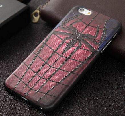 Spiderman soft TPU skin cover case for iphne 7 plus