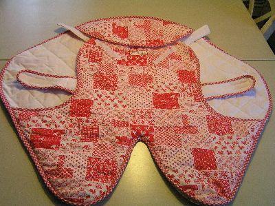 Knippie omslagdoek voor in maxi-cosi en kinderwagen