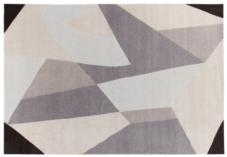 Riflessi Rug Gio Ponti Carpet Collection Handknotted in Nepal by AMINI Tibetan Wool and natural Silk 250x300cm