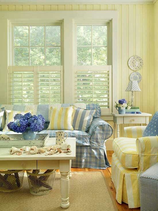 Best Blue And Yellow Living Room 400 x 300