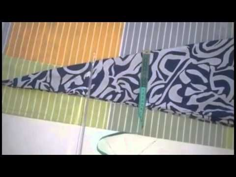 DIY jupe cloche / تنورة كلوش - YouTube