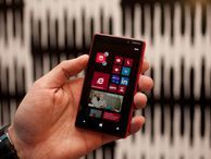 Nokia Lumia 820 shines Though the Lumia 920 was the headliner at Nokia World, the 820 comes with enough exciting pizazz as a standalone device.