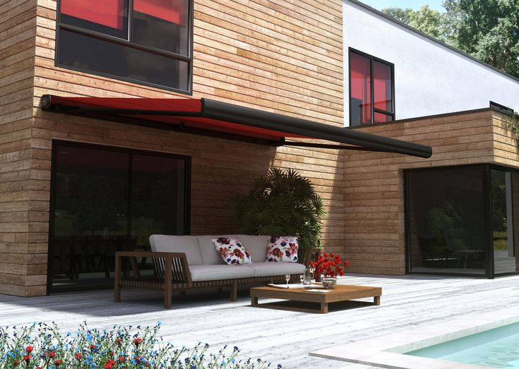 83 best terrasse images on Pinterest Backyard patio, Outdoor - store exterieur veranda prix
