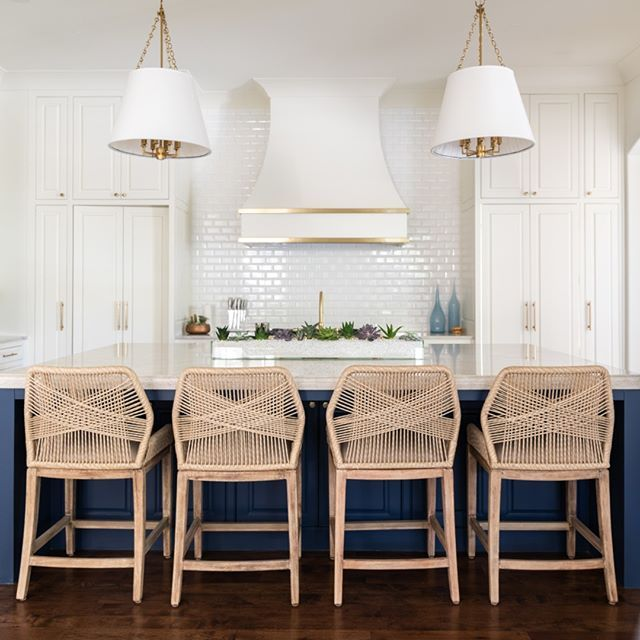 Woven Counter Stools Available At Blue Print Woven Barstools For Kitchen Island Navy Stools For Kitchen Island Home Furnishing Stores Affordable Home Decor