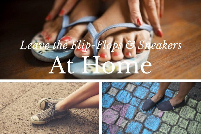 DON'T: Wear casual footwear. Flip-flops and sneakers are not appropriate funeral attire.  #loveliveson