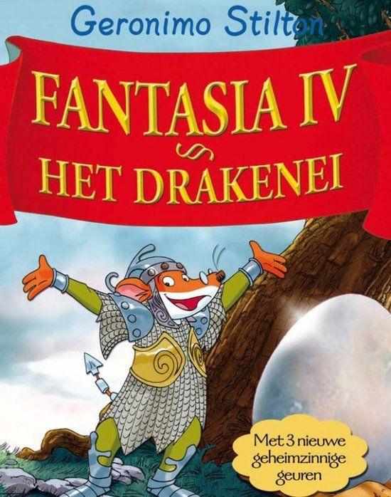 geronimo stilton fantasia IV het drakenei