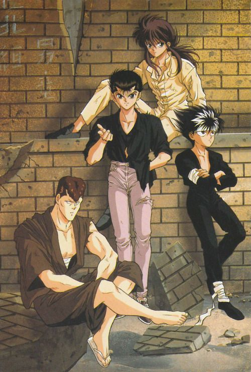 Yuyu Hakusho Post Card