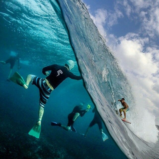Surfer + Photographers, Hawaii by Sash Kau'i Fitzsimmons