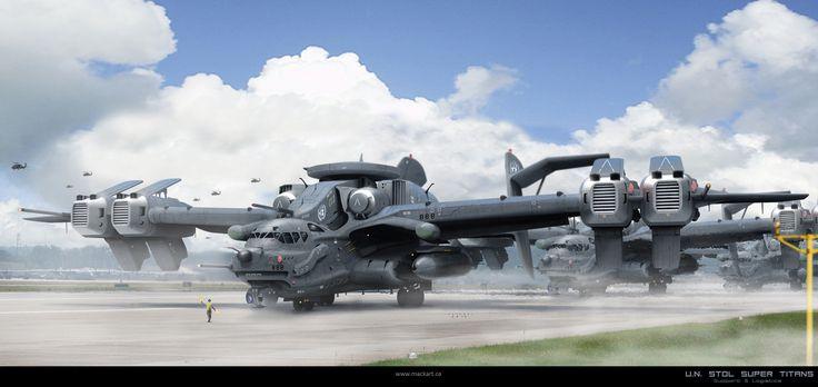 A-1 U.N. Super Titan by Mack Sztaba