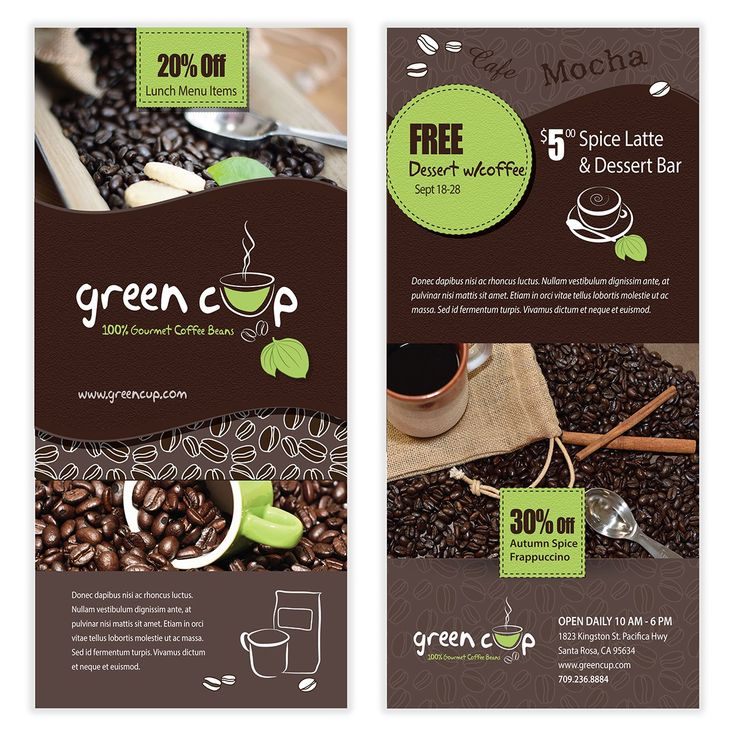 Coffee Flyer Template 08
