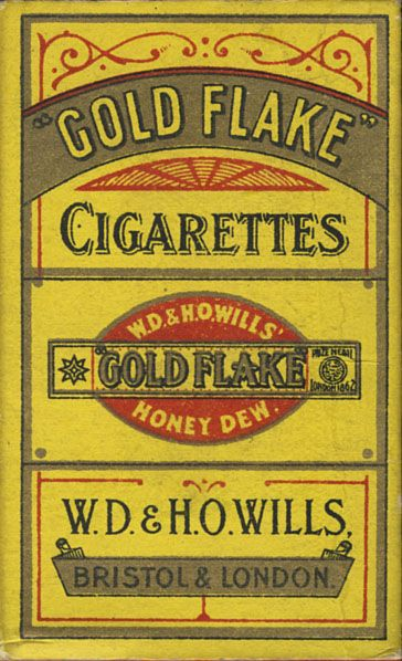 Gold Flake Cigarettes Gold Flake W.D.& H.O. Wills' Honey Dew. W.D.& H ...