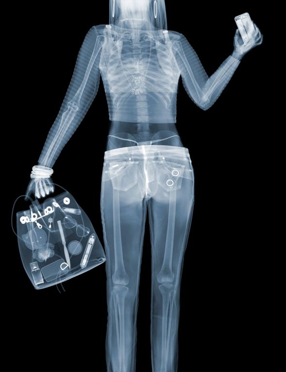 X ray through clothes online