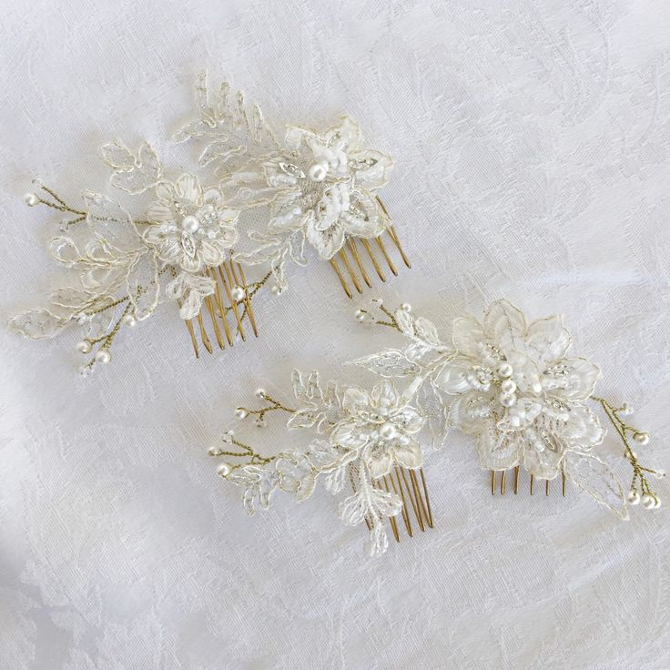 A personal favourite from my Etsy shop https://www.etsy.com/au/listing/244249792/orchid-angel-flower-bridal-comb-beaded