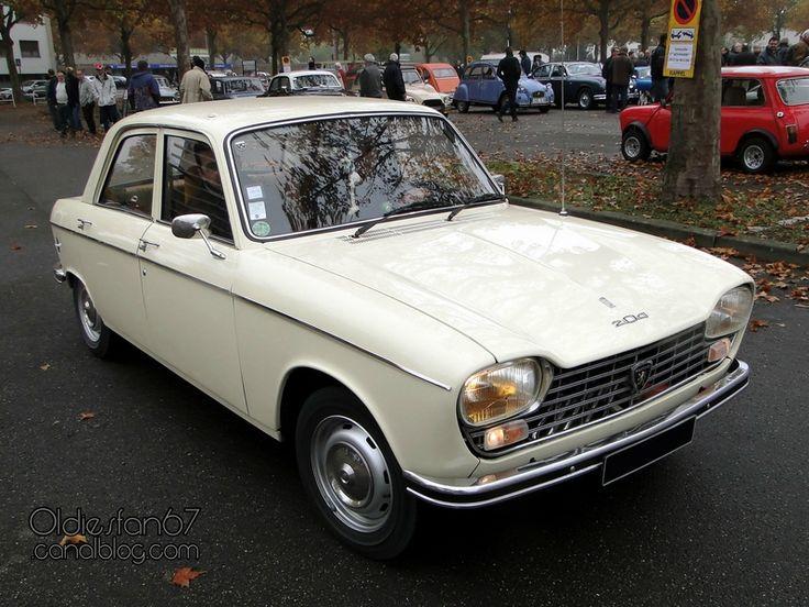 peugeot-204-1969-1971-01 ..1ere leçon ce conduite à 12 ans !!!