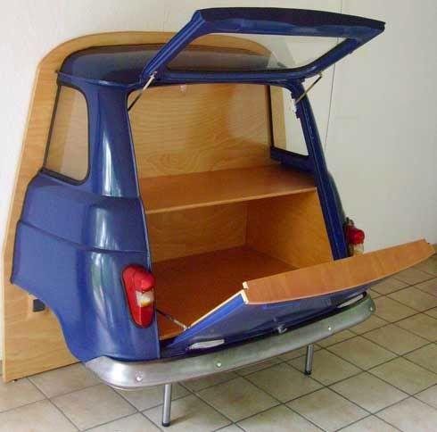 REVISTA DIGITAL APUNTES DE ARQUITECTURA: Muebles con material reciclado, hágalo usted mismo