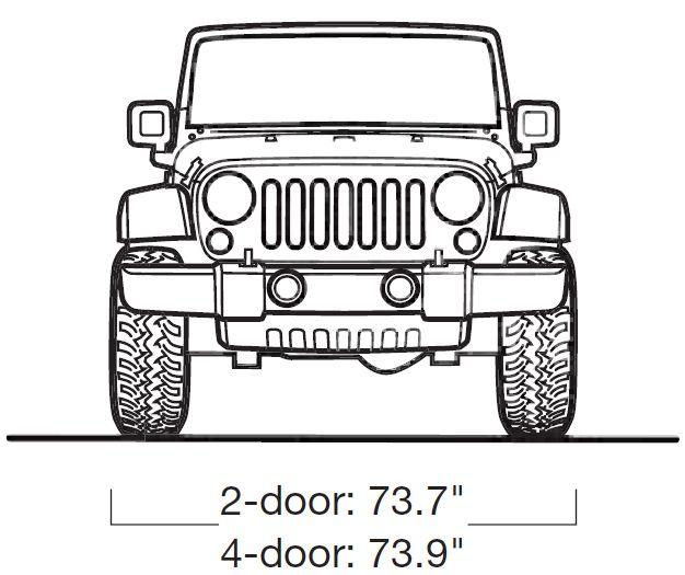 1970 jeep wrangler logo