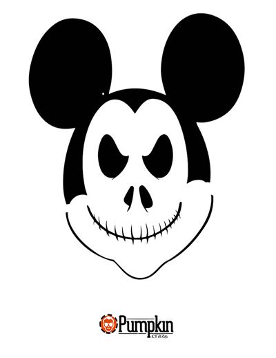 17 best images about disney pumpkin patterns on pinterest for Vampire mickey mouse pumpkin template
