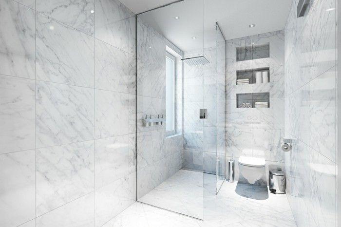 la meilleure salle de bain en carrelage marbre leroy merlin de couleur blanc