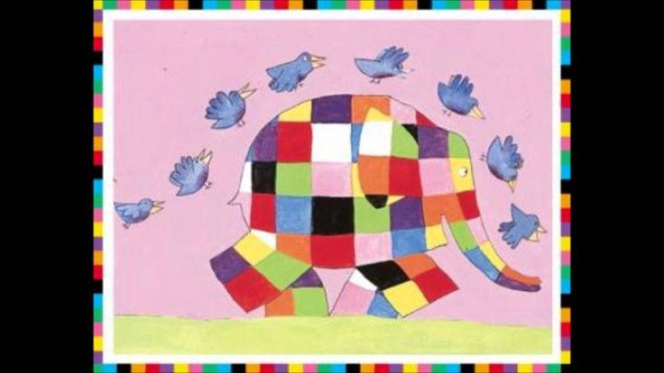 Liedje Zeg ken je Elmer de lapjesolifant.