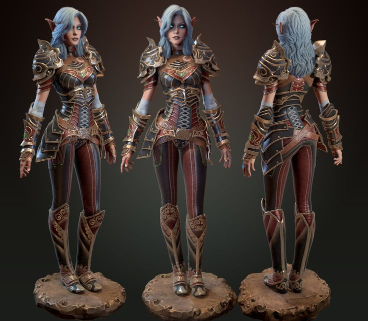 ArtStation - Elf, Nikita Volobuev