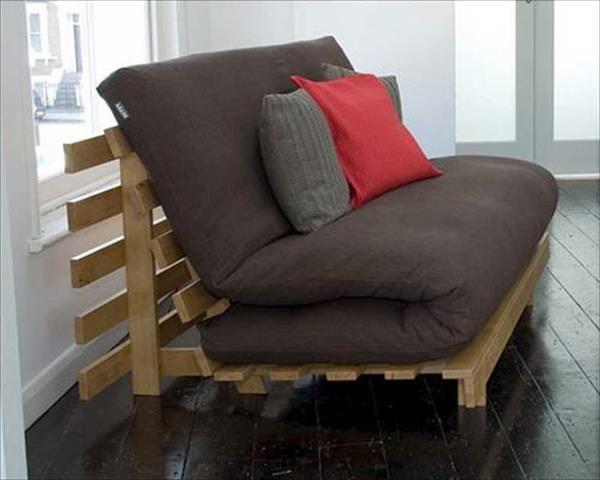 DIY Paletten Bett und Schlafsofa Designs und Stile (mit