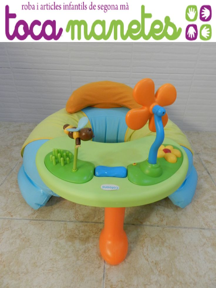 Sillón cosy seat. PVP TocaManetes: 24€. http://tocamanetes.com/es/90-sill%C3%B3n-cosy-seat-smoby.html