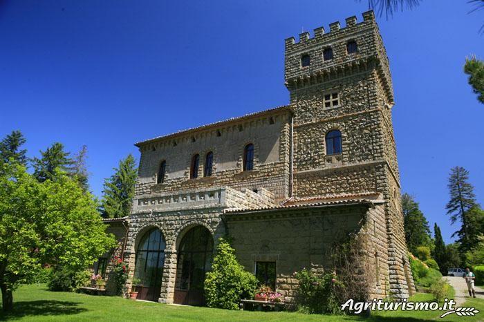 Agriturismo Castello di Santa Cristina a Grotte di Castro (Viterbo) - Lazio
