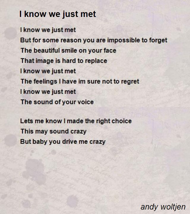 Secret Admirer Poems 7