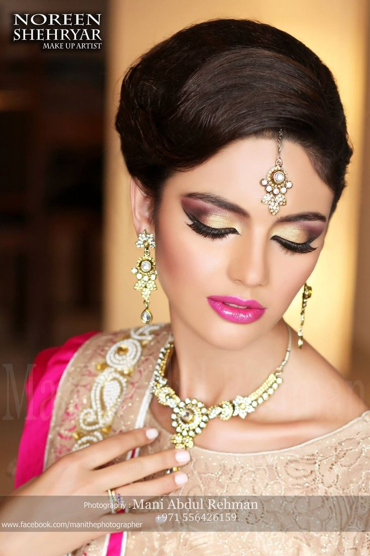 makeup by noreen shehryar ,photography by mani abdul rehman