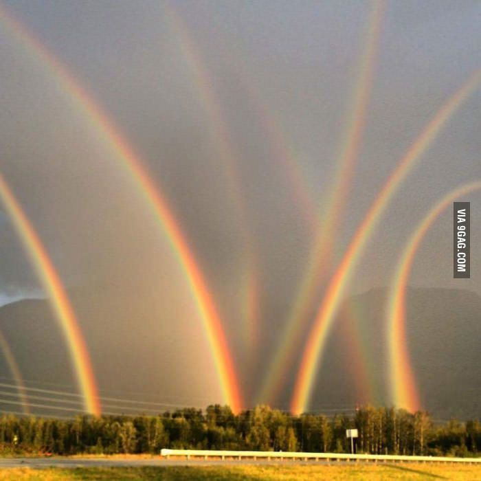 Double rainbow guy would not be able to handle this - 9GAG