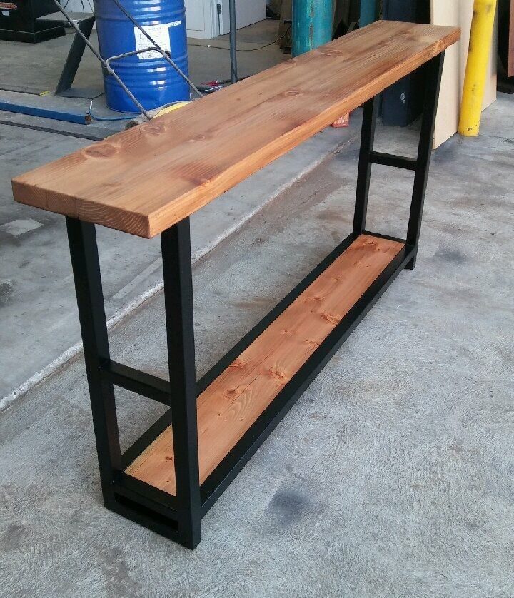 Recycled Oregon hall console