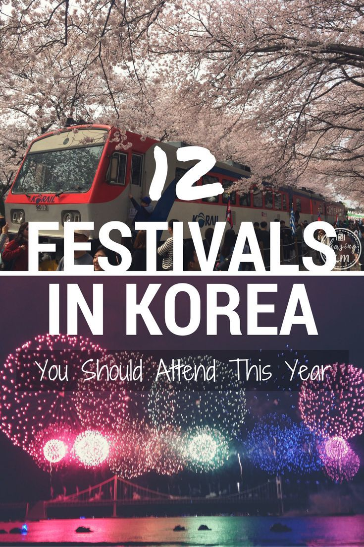In Korea, there's just about a festival for everyone. Check out 12 festivals you won't want to miss when you visit Korea. There's one for every month!