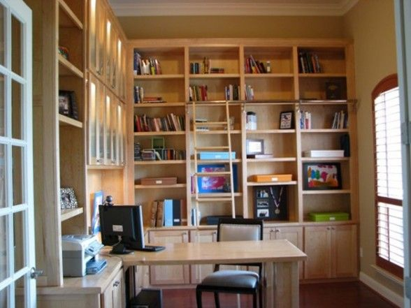 library desk home library design house library cozy home library small