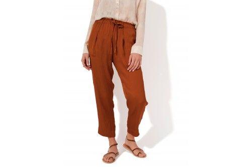 RAQUEL ALLEGRA / PANTALON AVEC CORDON  Disponible sur : http://www.bymarie.com/marques/raquel-allegra.html #raquelallegra #vetement #clothes #boheme #chic #fashion #mode #paris #marseille #sainttropez #chic #bymariestore