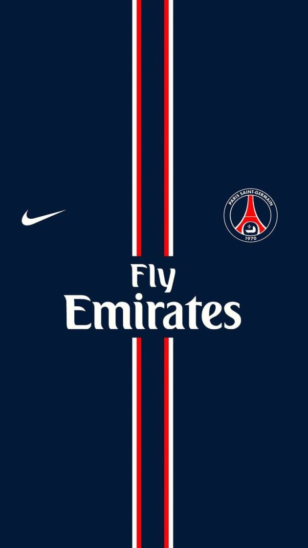 パリサンジェルマンのユニフォーム風 iPhone壁紙 Wallpaper Backgrounds iPhone6/6S and Plus  Paris Saint-Germain