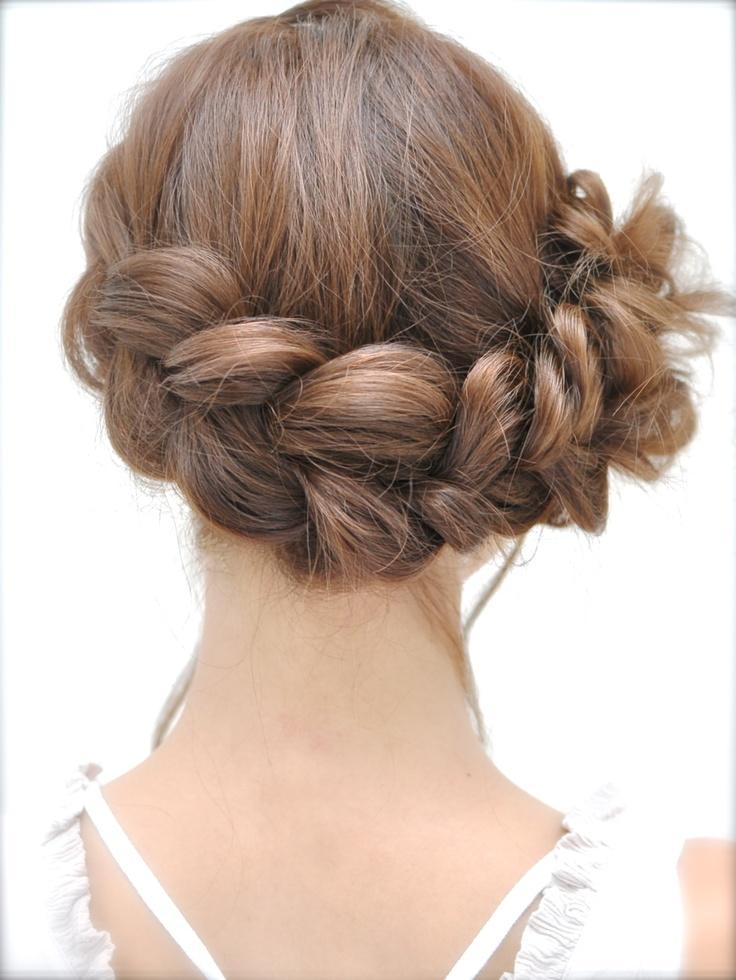 Hair arrange (back)