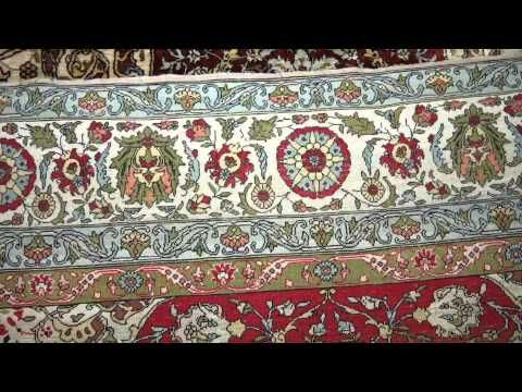 An antique Silk and metal thread Kumpkapi Turkish prayer rug, made the early 20th century.  http://www.imperialrugs.co.uk/vintage-handmade-carpets/antique-silk-kumpkapi-turkish-prayer-rug-417-91-843.php