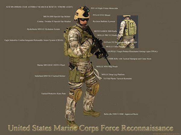reconnaissance marine