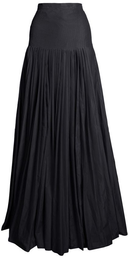 25  best ideas about Long pleated skirts on Pinterest   Long ...