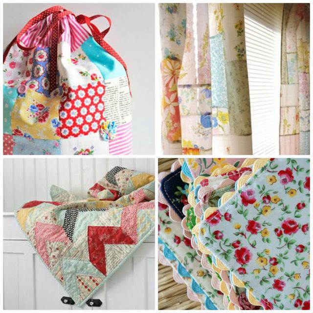Patchwork Please! A collection of patchwork necessities for the home :)