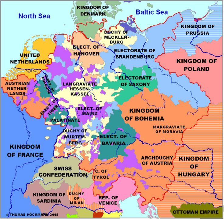 Best Maps Images On Pinterest Family Genealogy Genealogy - Germany map lands