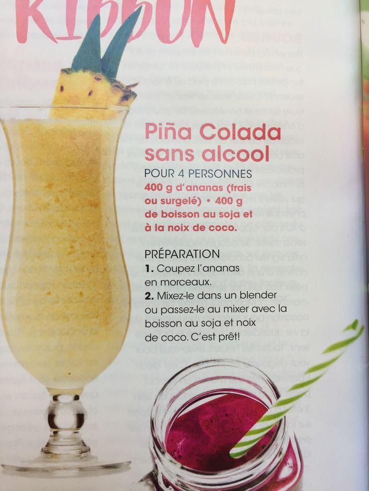 Pina colada zonder alcohol. Easy recipe