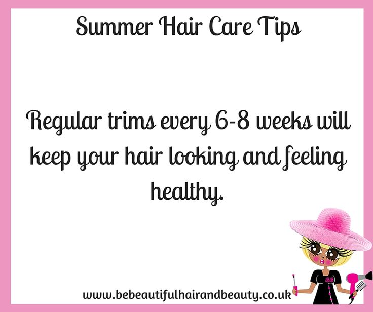 Summer Hair Care Tip #5