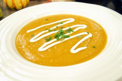 Roasted sweet potato soup with orange and ginger - CityLine