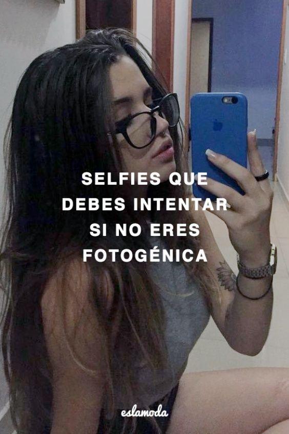 Selfies que debes probar si no te consideras fotogénica
