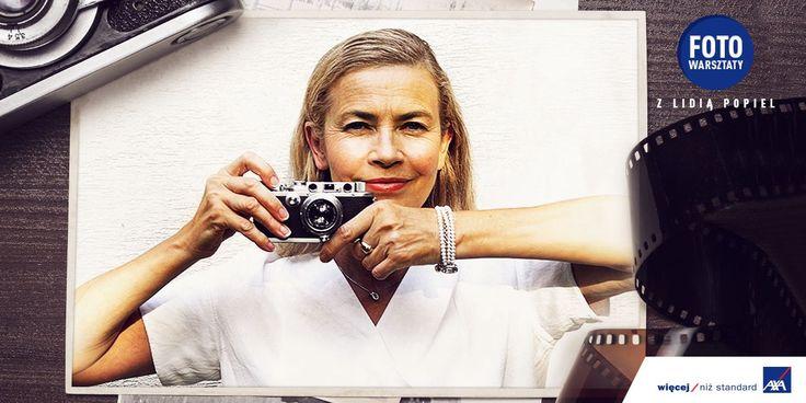 Lekcje fotografii on-line z mistrzynią w swoim fachu - Lidią Popiel!